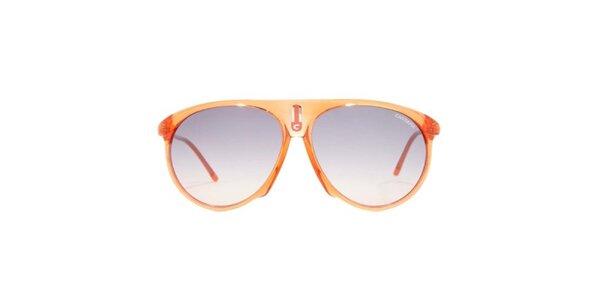 Oranžové sluneční brýle Carrera