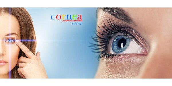 Laserová operace obou očí
