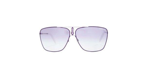 Fialové sluneční brýle s tenkými obroučkami Carrera