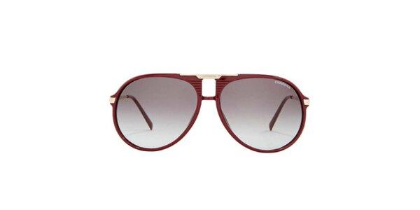 Vínové sluneční brýle Carrera