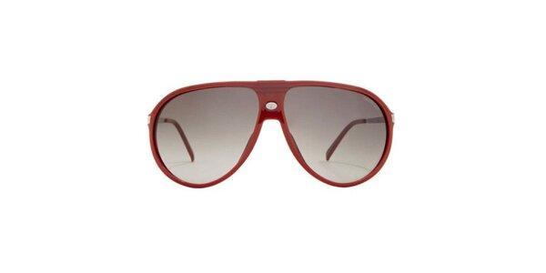 Červené sluneční brýle Carrera