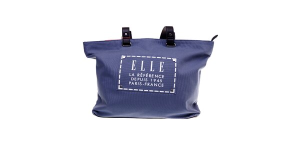Dámská modrá plážová taška Elle