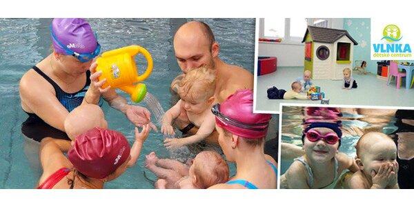 Plavání pro miminka a jejich rodiče