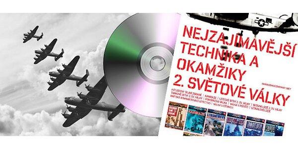 """Cyklus 7 + 1 DVD dokumentů o 2. světové válce """"Válečné Šílenství"""" - včetně…"""