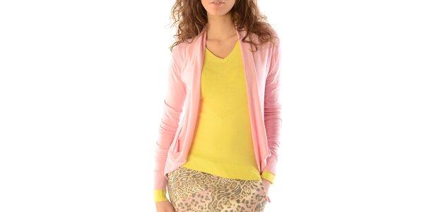 Dámský růžový kardigan Silvana Cirri