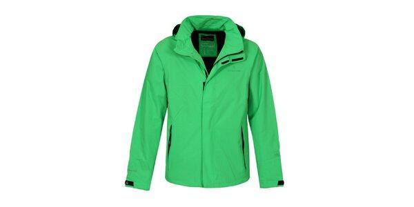 Pánská zelená funkční bunda Bergson