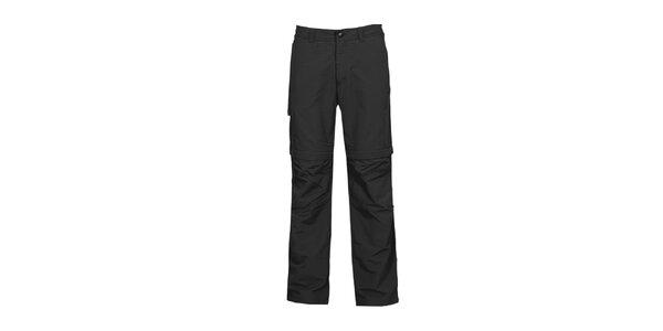 Pánské černé nastavitelné kalhoty Bergson