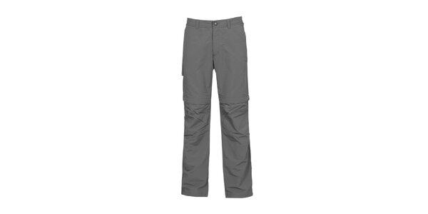 Pánské antracitové nastavitelné kalhoty Bergson