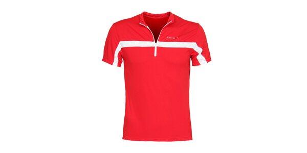 Pánské červené cyklistické tričko Bergson