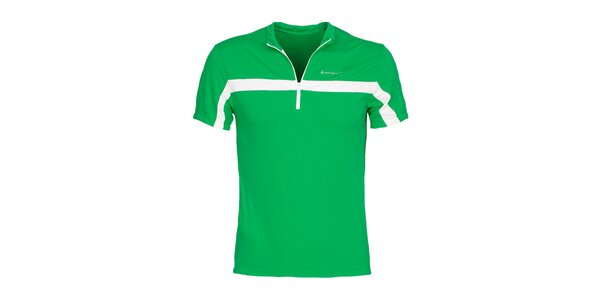 Pánské zelené cyklistické tričko Bergson