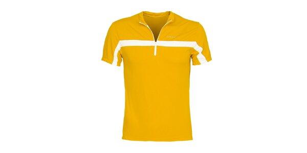 Pánské žluté cyklistické tričko Bergson