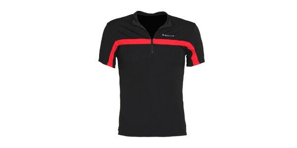 Pánské černé cyklistické tričko Bergson