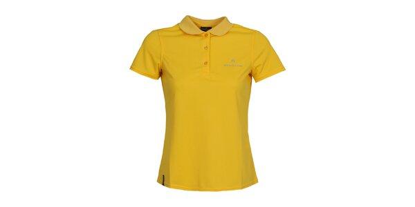 Dámské žluté polo triko Bergson