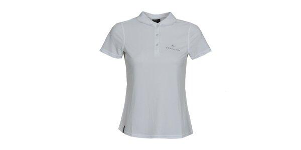 Dámské bílé polo triko Bergson