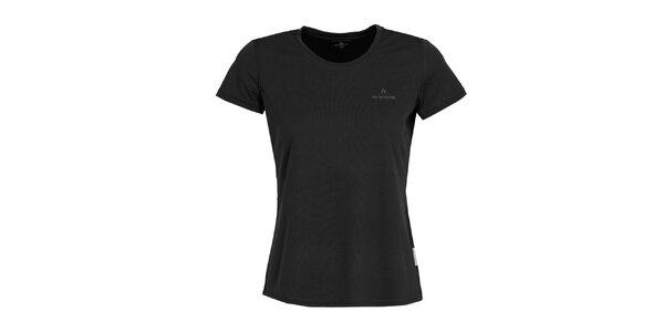 Dámské funkční černé tričko s krátkým rukávem Bergson