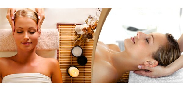 Indická masáž hlavy / antistresová masáž /