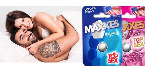 Přírodní pilulka MAXXES pro muže i ženy