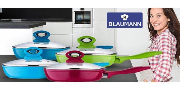 Kvalitní pánvičky Blaumann se skleněnou poklicí