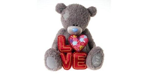 MTY medvídek 46cm Láska