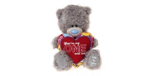 MTY medvídek 14,5cm Jsi můj jediný