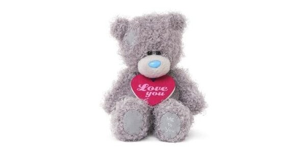 MTY medvídek 13,5cm s plaketkou