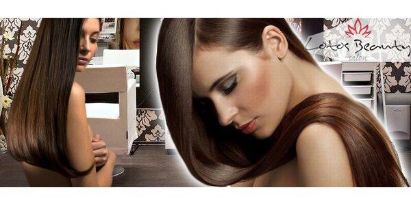 3 balíčky luxusní kadeřnické péče v Lotos Beauty