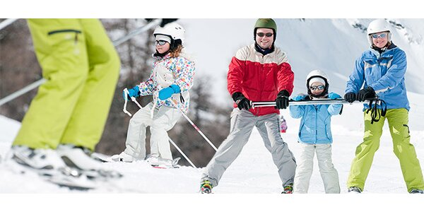 Výuka jízdy na lyžích či SNB na Zadově