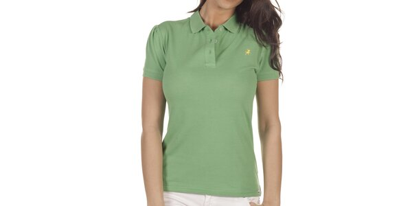 Dámské zelené polo Lois