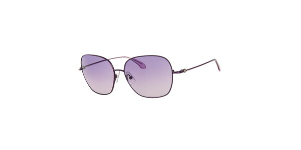 Dámské sluneční brýle s fialovými čočkami Calvin Klein