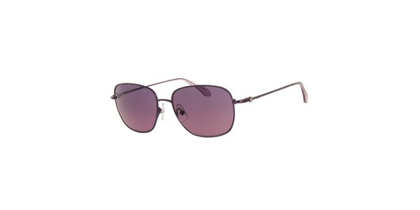 Dámské sluneční brýle s čočkami ve fialovém odstínu Calvin Klein