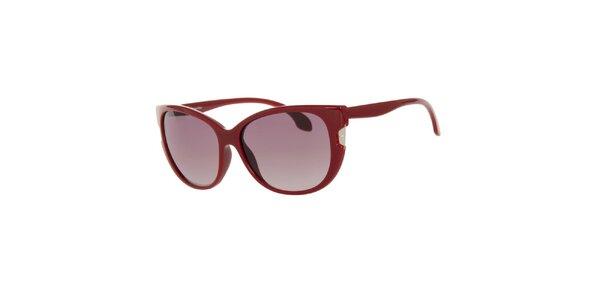 Dámské červené sluneční brýle Calvin Klein