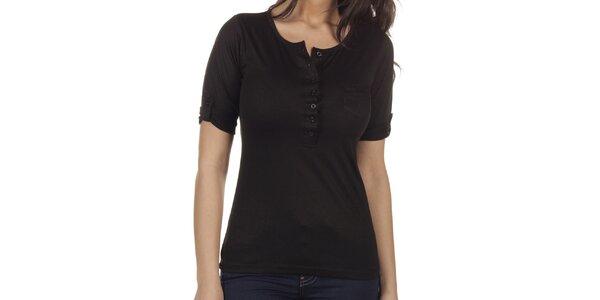 Dámské černé tričko Lois
