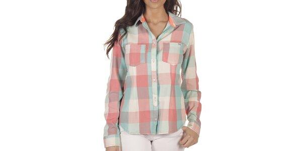 Dámská barevně kostkovaná košile Lois
