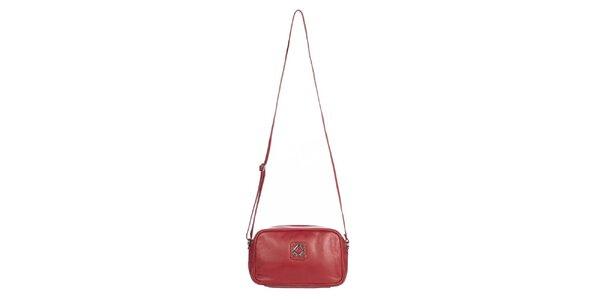 Dámská malá červená kabelka Marsanpiel