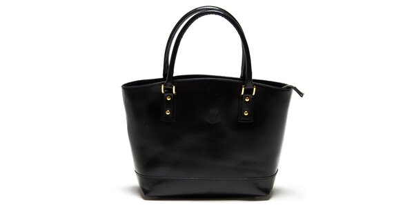 Dámská černá kabelka Carla Ferreri