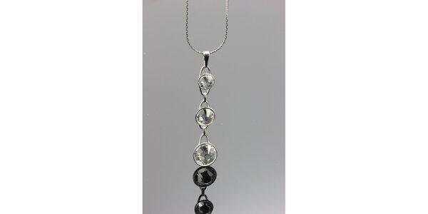 Dámský náhrdelník s přívěskem s krystaly Swarovski
