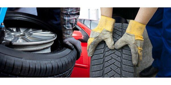 Přezutí pneumatik nebo výměna celých kol