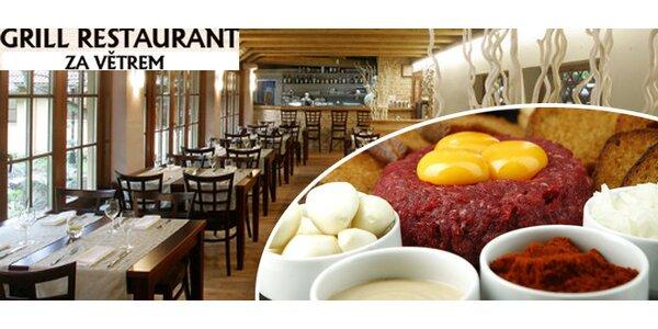 500g Tatarský biftek až pro 4 osoby