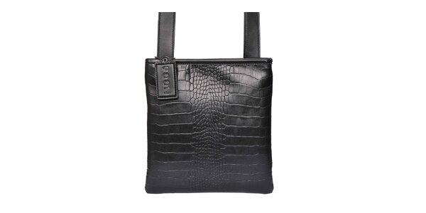 Dámská černá kabelka přes rameno POON Bags