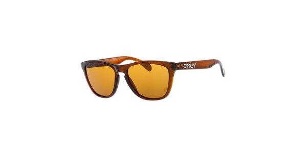 Hnědé sluneční brýle Oakley