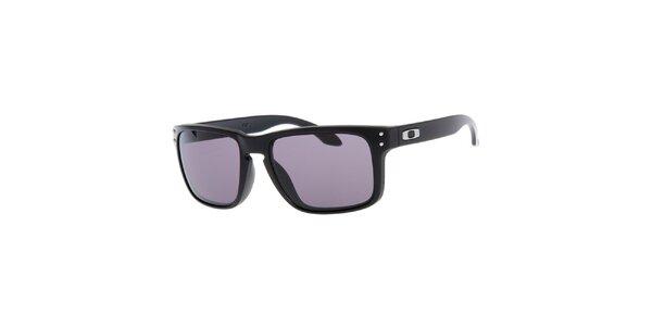 Hranaté černé sluneční brýle Oakley