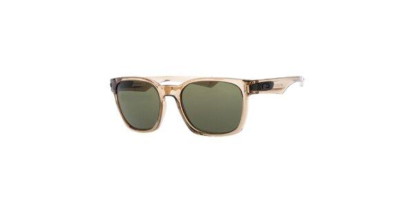 Světle hnědé transparentní sluneční brýle Oakley