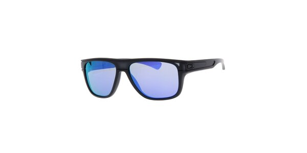 Černé sluneční brýle s fialovými skly Oakley