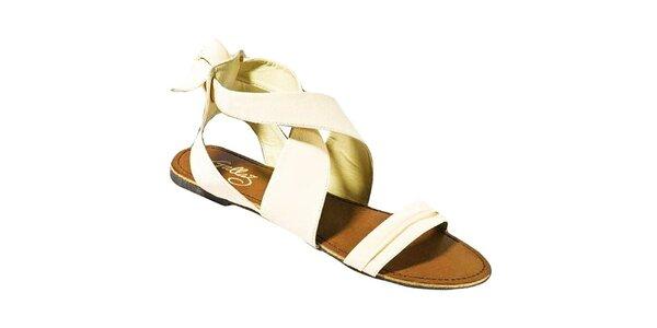Dámské béžové sandálky Gallaz