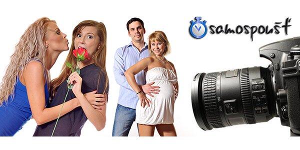 Zábavné fotografování v automatickém fotoateliéru - úžasná zábava a dokonalé…