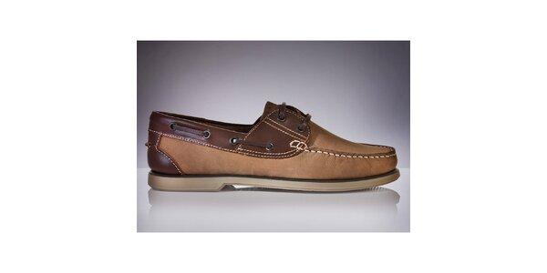 Pánské hnědé boty DEK