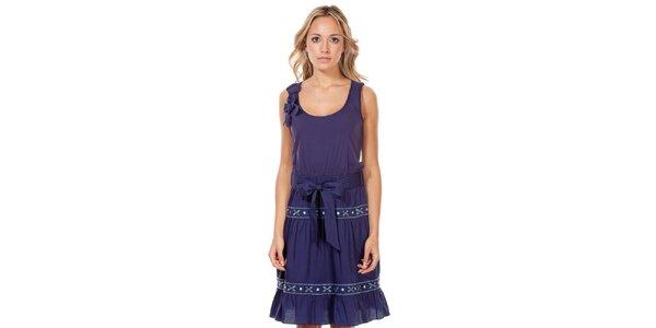 Dámské tmavě modré šaty Rosalita McGee