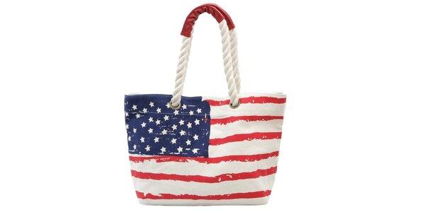 Dámská taška s americkou vlajkou Rosalita McGee