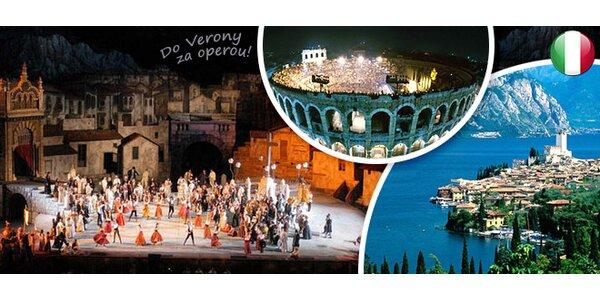 Zájezd do italské Verony s lístkem na slavnou operu
