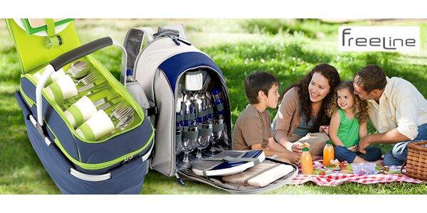 Chladicí batoh nebo taška na piknik v přírodě